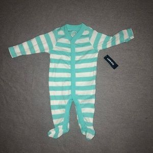NWT Old Navy Teal Striped Pajamas